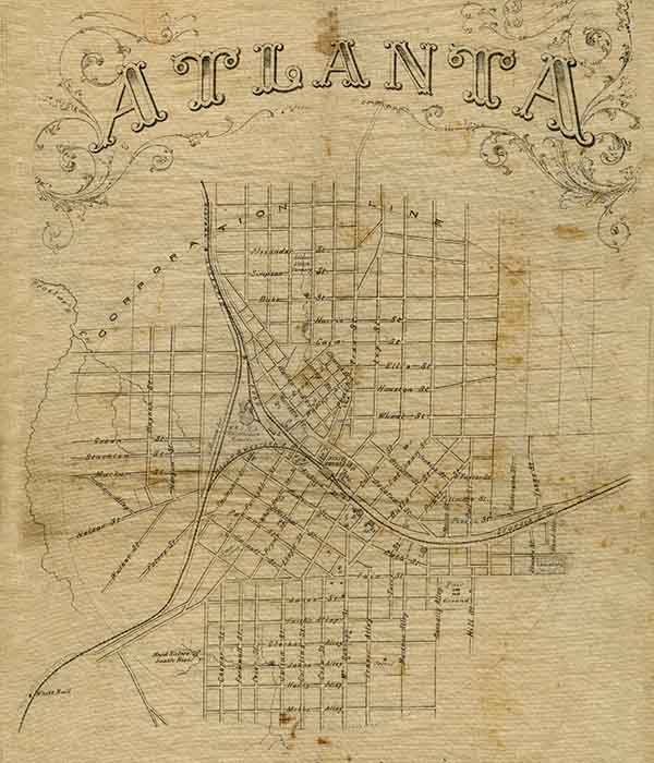 Battle Of Atlanta Map Battle of Atlanta